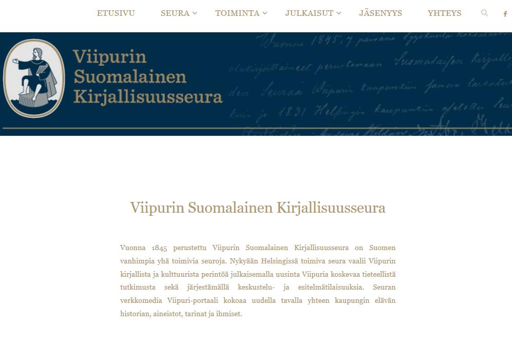 Uudistetut verkkosivut