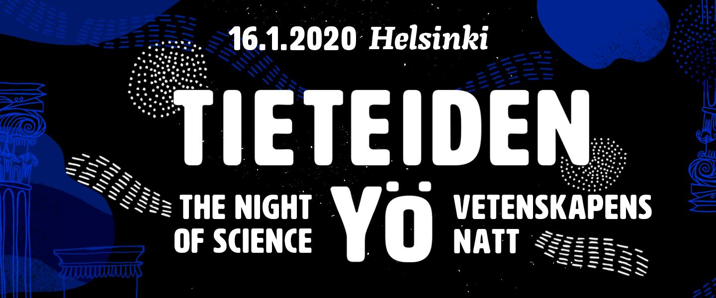 VSKS mukana Tieteiden yössä 16.1.2020 teemalla Taiteen Viipuri