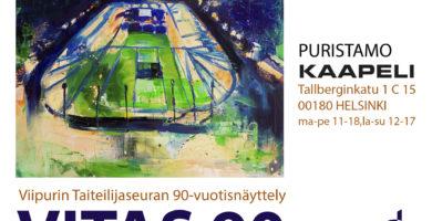 Viipurin Taiteilijaseuran VITAS 90 juhlavuosinäyttely Kaapelitehtaan Puristamolla 8.–20.06.2021